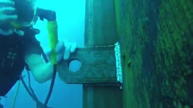 Сварка под водой - Идеальный ремонт