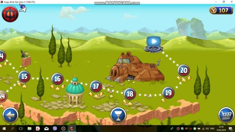 Я играю Angry Birds Star Wars 2 Уровни боссы