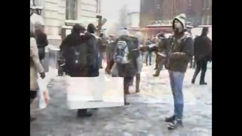 11 12 2010 Vastarintaliike Aktivismia Helsingissä