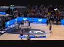 Концовка финала Кубка Испании по баскетболу / Реал 93:94 Барселона