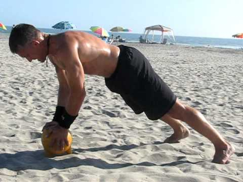Steve Maxwell: Kettlebell Crush Push-Up
