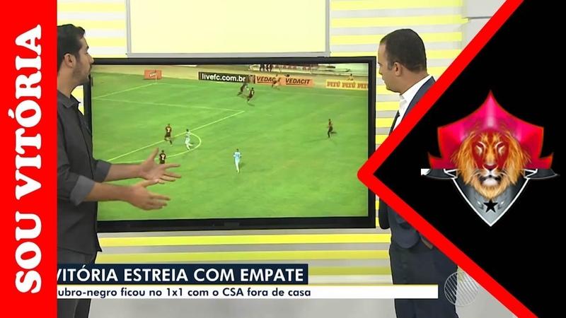 Sub-23 do Vitória estreia com empate no Nordestão e veja sobre a ação de Léo Gomes contra o Vitória