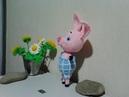 Пятачок из Винни пух , ч.1. Piglet from Winnie Pooh , р.1. Amigurumi. Crochet.