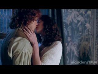 Коллекция поцелуев Джейми и Клэр за 3 сезона