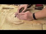 Настенная маска из дерева своими руками, резьба по дереву