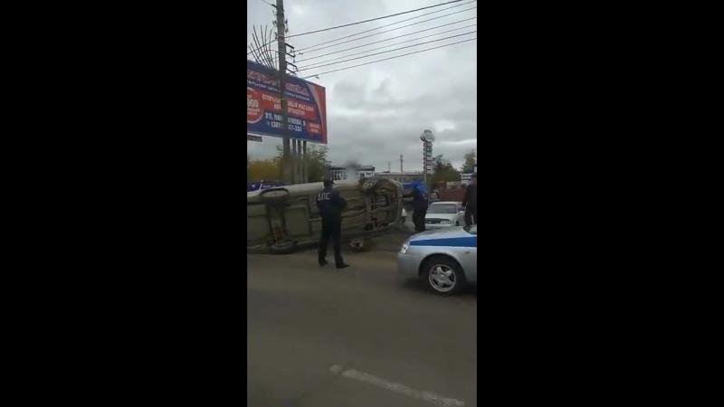 Авария на проспекте Автомобилистов