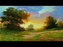 Gouache Landscape Painting By Yasser Fayad