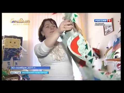 ГТРК СЛАВИЯ 25 2011 Новогодние игрушки для городских ёлок 30 11 18