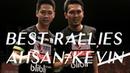 Badminton BEST RALLIES of Mohammad Ahsan and Kevin Sanjaya Sukamuljo