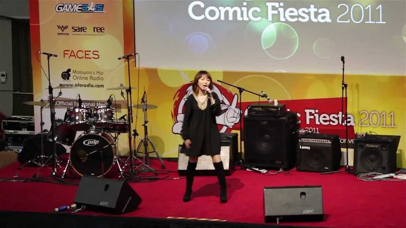 Shimokawa Mikuni - Sore Ga Ai Deshou (Live at Comic Fiesta 2011)