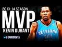 Kevin Durant 2013-14 MVP Season Offensive & Defensive Highlights Mix! | FreeDawkins