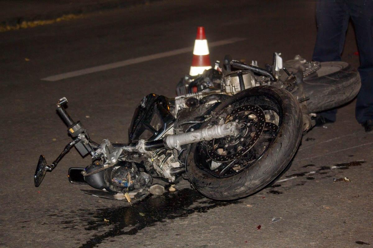 В Осташкове пострадал мотоциклист