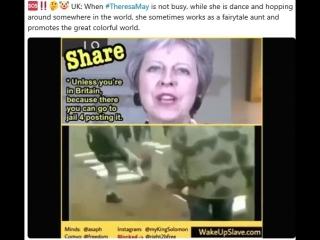 Theresa May = eine Primär-Psychopathin    hier der Beweis