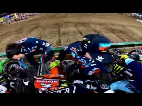 GoPro Jordon Smith Extended Main Event With Pre Race Bike Problem - Minneapolis Supercross 2019