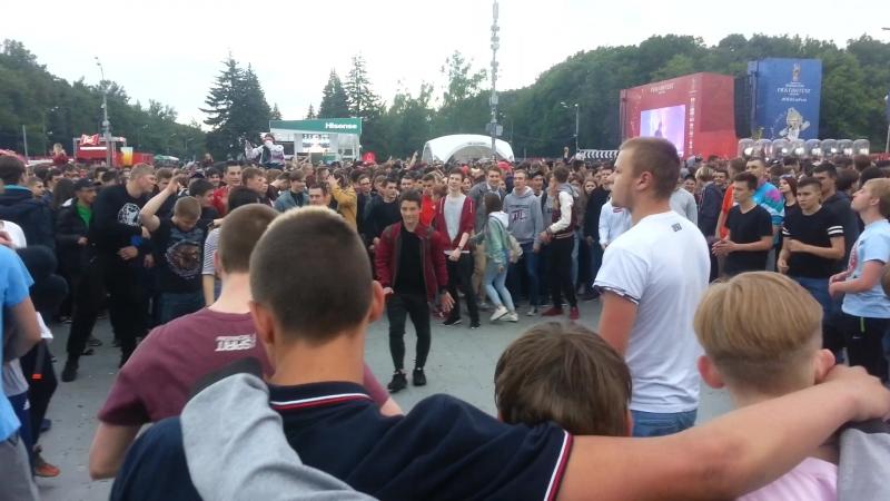 Moscow Football Fest Слэм