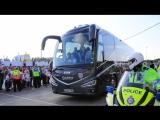 Английская сборная покидает Санкт-Петербург