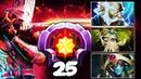 LEVEL 25 Dotaplus EPIC Gameplay Compilation Juggernaut Zeus Oracle Treant