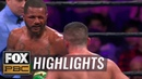 Anthony Dirrell vs Avni Yildirim All the punches head butts confusion HIGHLIGHTS PBC ON FOX