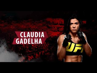 CLAUDIA GADELHA HIGHLIGHTS 2018 HD 1080p BEST MOMENTS KO