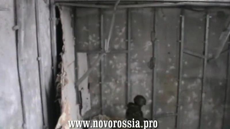 Солдатская Правда Зачистка донецкого аэропорта 15 01 15 Полная версия