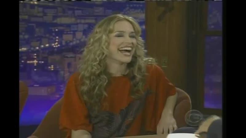 Piper Perabo au Late Late Show de Craig Ferguson le 1er Février 2006
