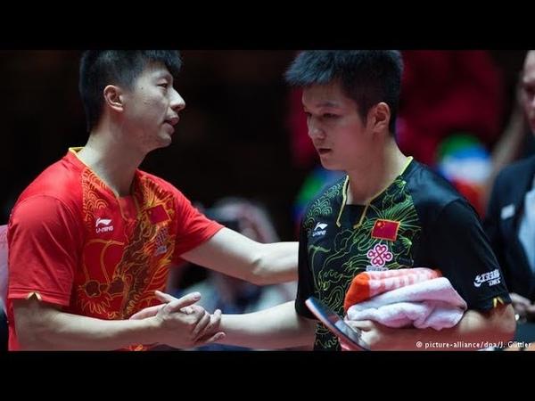 Ma Long VS Fan Zhendong - The Superheroes Amongst Men | HD