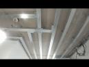 Как подготовить гипрочный потолок под монтаж встроенных светодиодных светильников