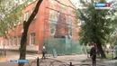 На фасаде пермской школы оживет трехметровый медведь