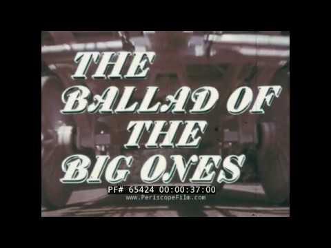 VINTAGE BUDWEISER BEER CLYDESDALE HORSES PROMOTIONAL FILM BALLAD OF THE BIG ONES 65424