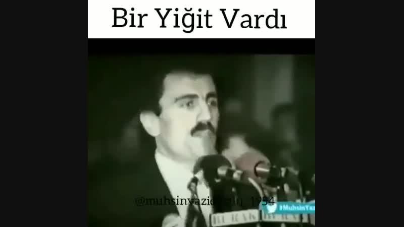 Muhsin Yazıcıoğlu'nun görüşü