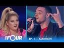 Ebon Lurks: Moving Audition Gets Meghan Trainor EMOTIONAL! | S2E3 | The Four
