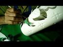 Cómo pintar una lámpara de PVC