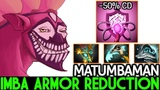 Matumbaman Dazzle Imba Armor Reduction ABILITY REWORK 7.20 Dota 2