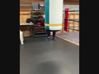 Танец абсолютного чемпиона в тяжелом весе - Александра Усика