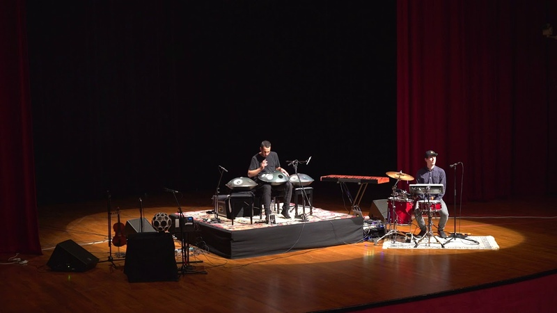 AUS Events Manu Delago Performs at American University of Sharjah