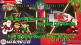 Baltimore Ravens vs. Kansas City Chiefs NFL 2018-19 Week 14 Predictions Madden NFL 19