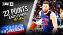 Blake Griffin Full Highlights 2019 ECR1 Game 4 Bucks vs Pistons - 22 Pts, 6 Asts! | FreeDawkins