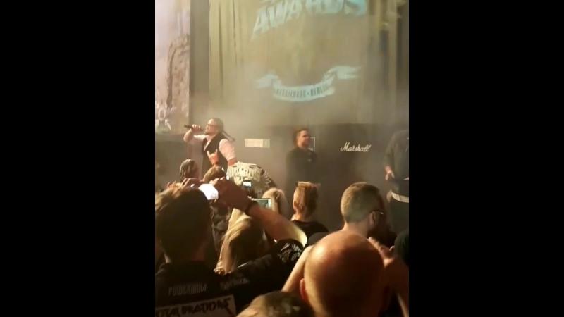 Powetwolf. metal hammer awards 2018. berlin