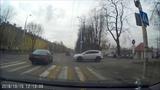 Легкое ДТП на ул. Горького Калининград 15.11.18
