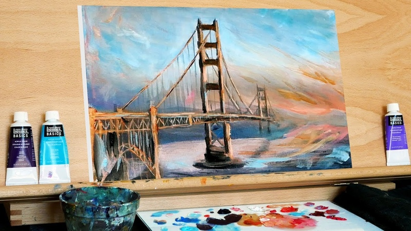 Painting a Bridge with Glazing and Impressionism (Ryan O'Rourke)