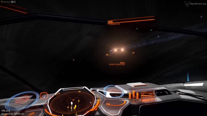Elite Dangerous - This Is What Warp Looks Like From The Outside