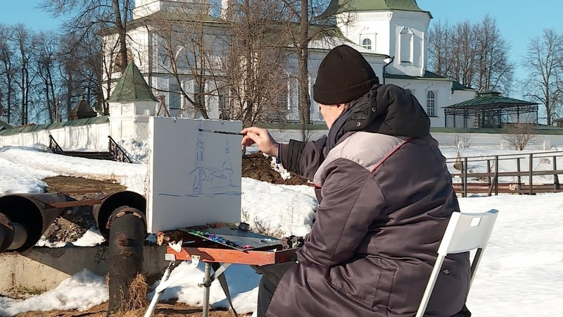 В Костроме стартовал арт-пленэр «Грачи прилетели 21-й век»