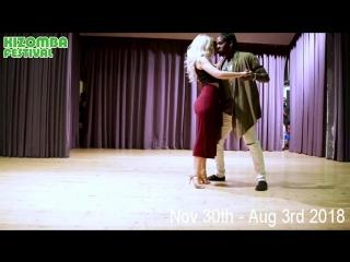 Танцуют Энах и Каролина. Александр Розенбаум Ау (минус).