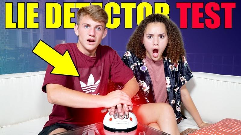 MattyBRaps Lie Detector Test with Gracie Haschak!