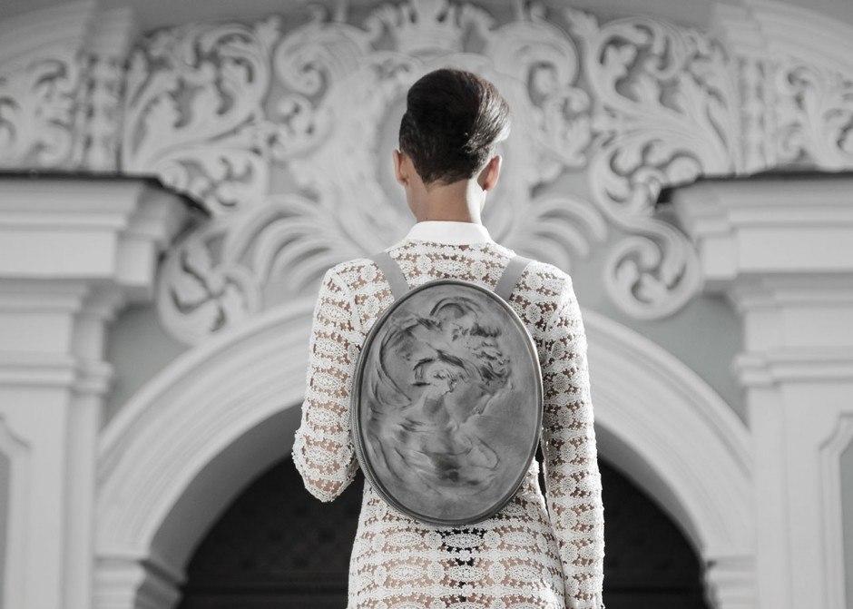 «Архитектурные» рюкзаки от дизайнера Konstantin Kofta