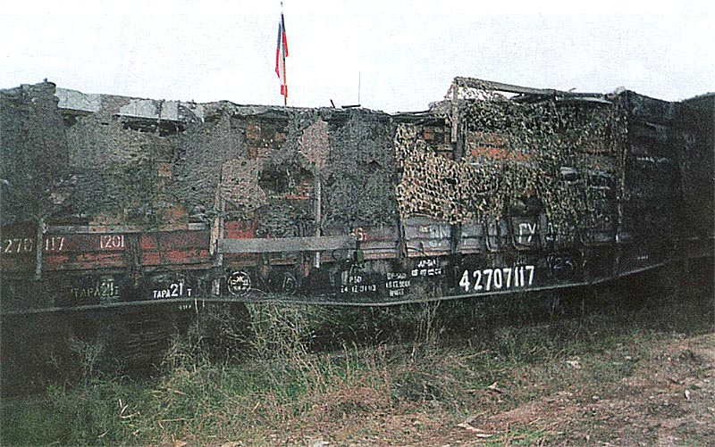 Долговременное огневое сооружение на платформе СП «Козьма Минин»