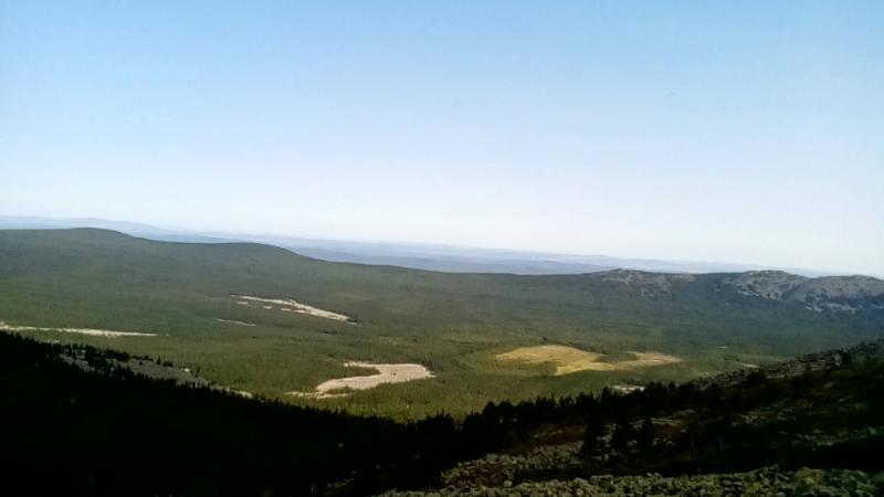 Восхождение на гору Большой Иремель