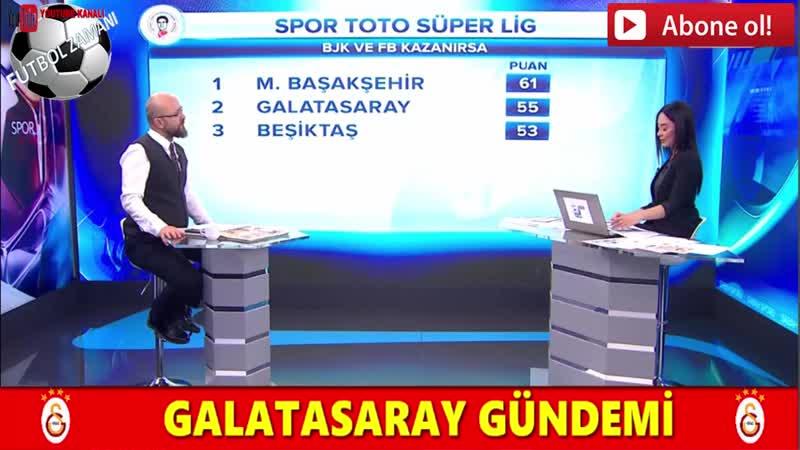 İşte Galatasarayın Fenerbahçe derbisi 11i! Sabah Sporu 12 Nisan 2019