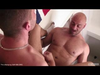 Гей секс порно dad son older/younger daddy twink орал анал big dick
