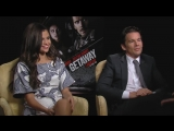 NEW Selena Gomez and Ethan Hawke GETAWAY Interview